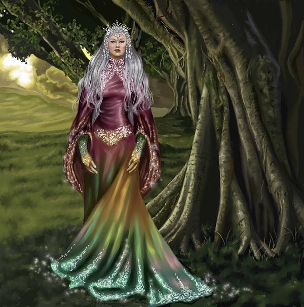 elven and fairy queens