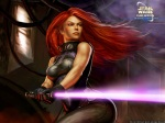 Mara Jade - ginger with a lightsaber.  How awesome/scary is that!