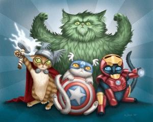 avenger kittens