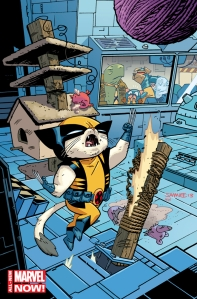 Wolverkitty is not intimidated!