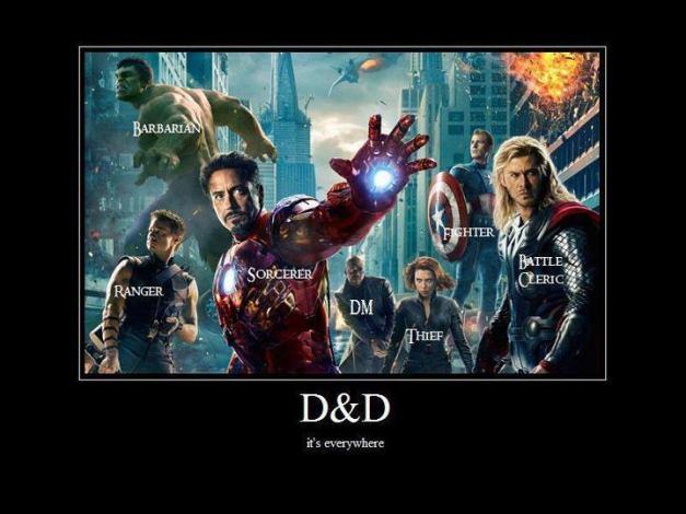 avengers Dnd