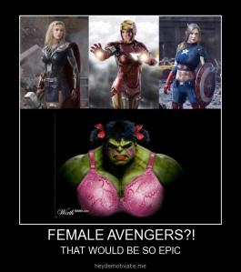 avengers female