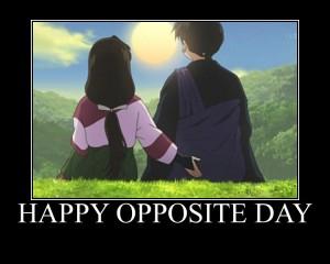 oppositeday