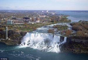 Niagara with water