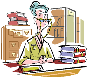 library worker