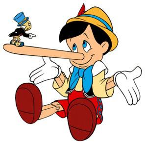 tell a lie