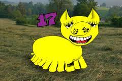 yellow pig