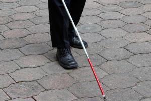 white cane safety