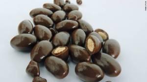 bittersweet choc w almonds
