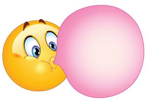 bubblegum-smiley