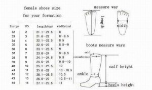 measure feet