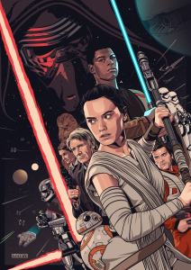 poster the force awakens