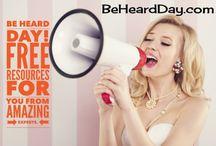 be heard2