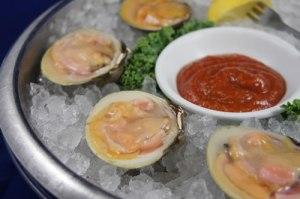 clam half shell