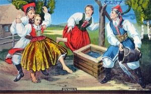 Dyngus_postcard