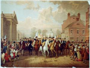 Evacuation Day and Washington's Triumphal Entry in NYC, Nov. 25, 1783