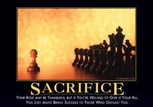 sacrificedemotivator