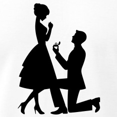 Wedding-Proposal-(1c)++-T-Shirts