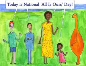 national-all-is-ours-day