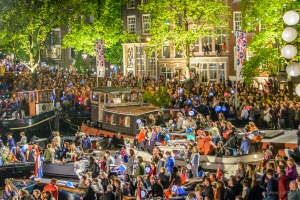 Liberation Day Concert, Amstel River, Amsterdam, The Netherlands
