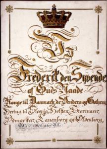 Grundloven-1849-forside