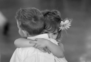 two-children-hugging