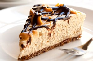 Toffee-chocolate-cheesecake