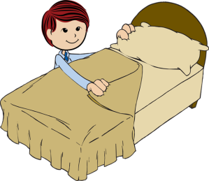 Boy-Making-His-Bed