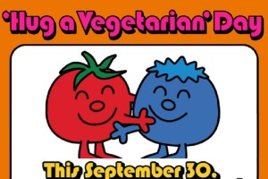 hugavegetarianday