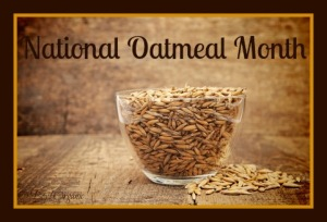 oats heaped in a glass cup on wooden table