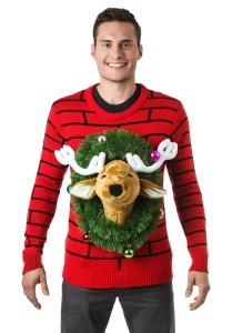 reindeer-head-ugly-christmas-sweater