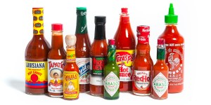 Hot Sauce Photo Shoot